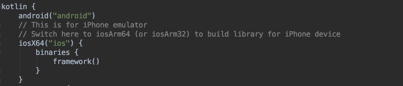 iOS project block screenshot