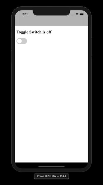 WKWebView with a toggle screenshot
